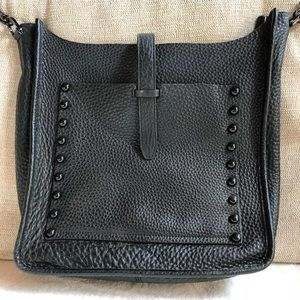 Rebecca Minkoff Black Crossbody Feed Bag